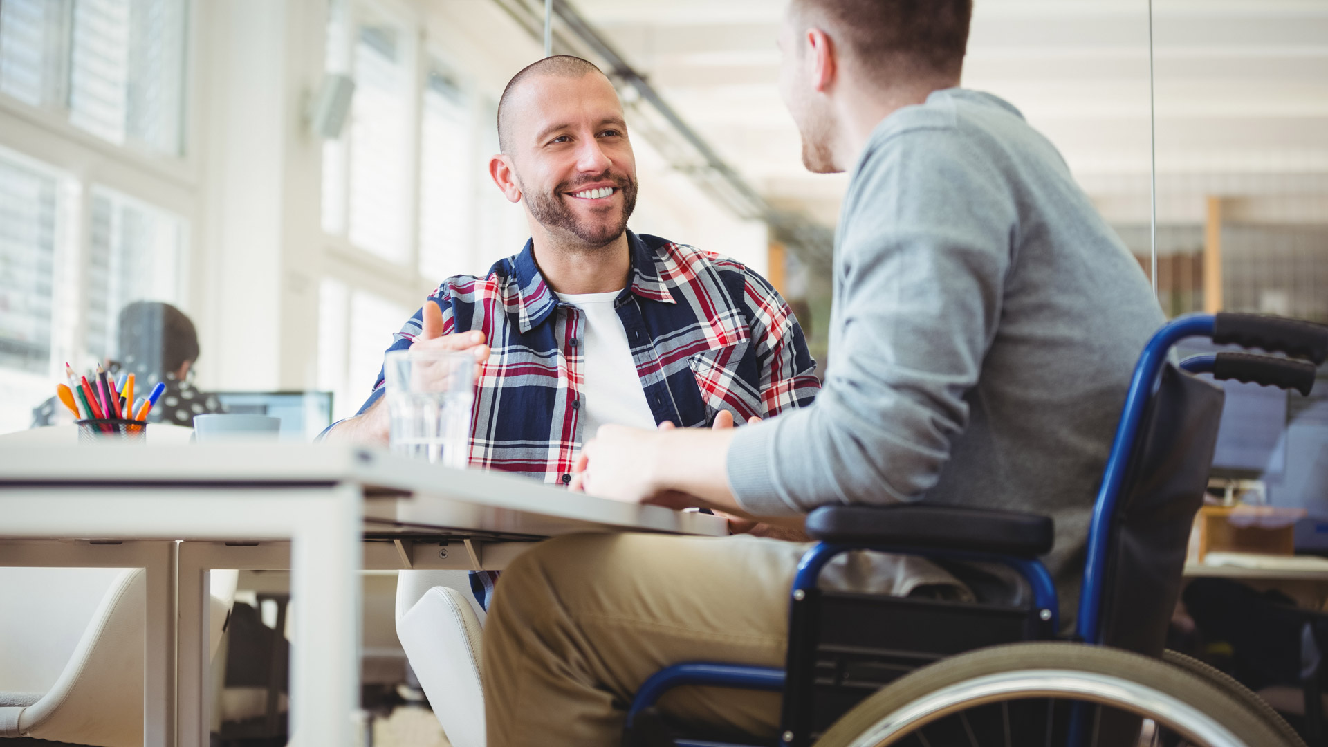 Wheelchair Accessible Workplace