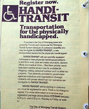 Oral History Handi-Transit